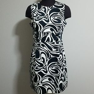 Michael Kors Black & White Dress